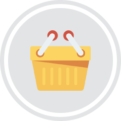 eCommerce Service basket icon